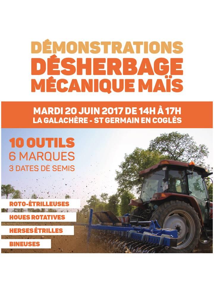 Démo Désherbage Mécanique Maïs – St Germain En Coglès (35)