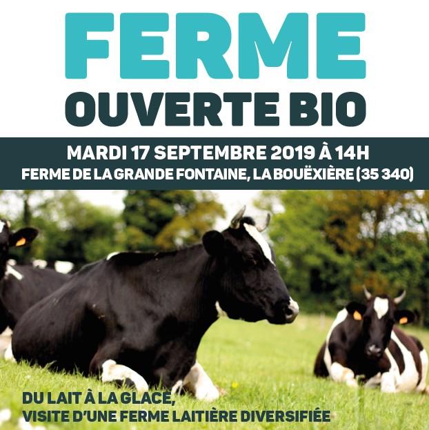 Ferme Ouverte – Lait Bio Et Diversification – La Bouëxière (35)